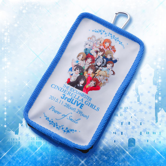 THE IDOLM@STER CINDERELLA GIRLS 3rdLIVE TOUR Multi Pouch