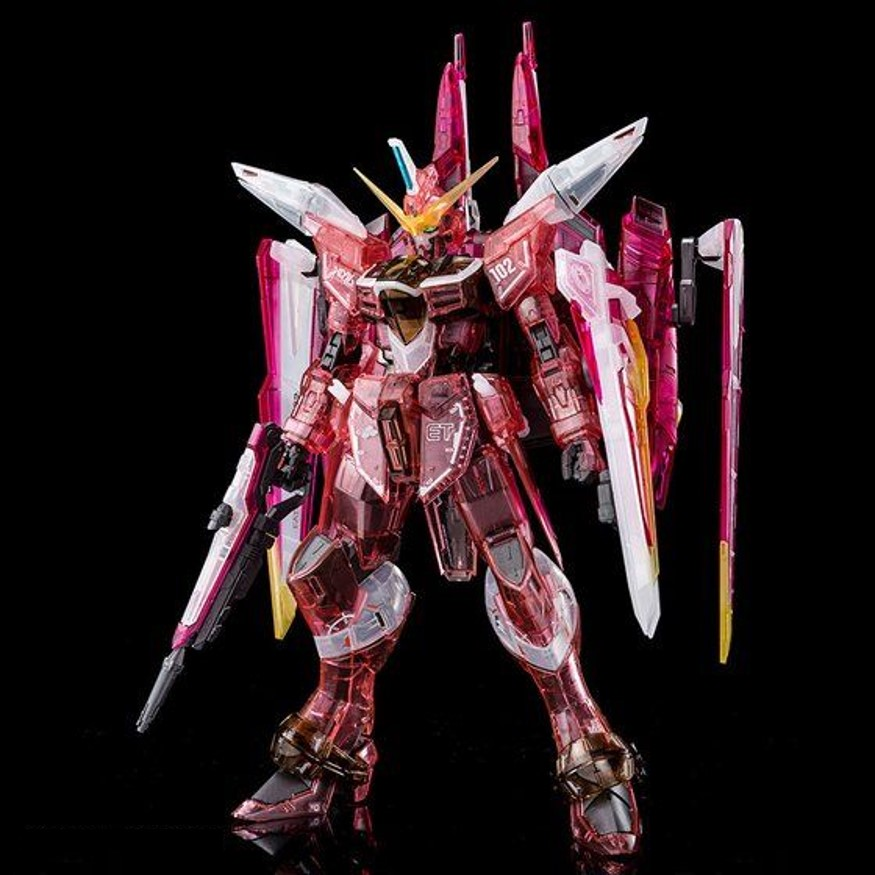 MG 1/100 JUSTICE GUNDAM [CLEAR COLOR][Sep 2020 Delivery]
