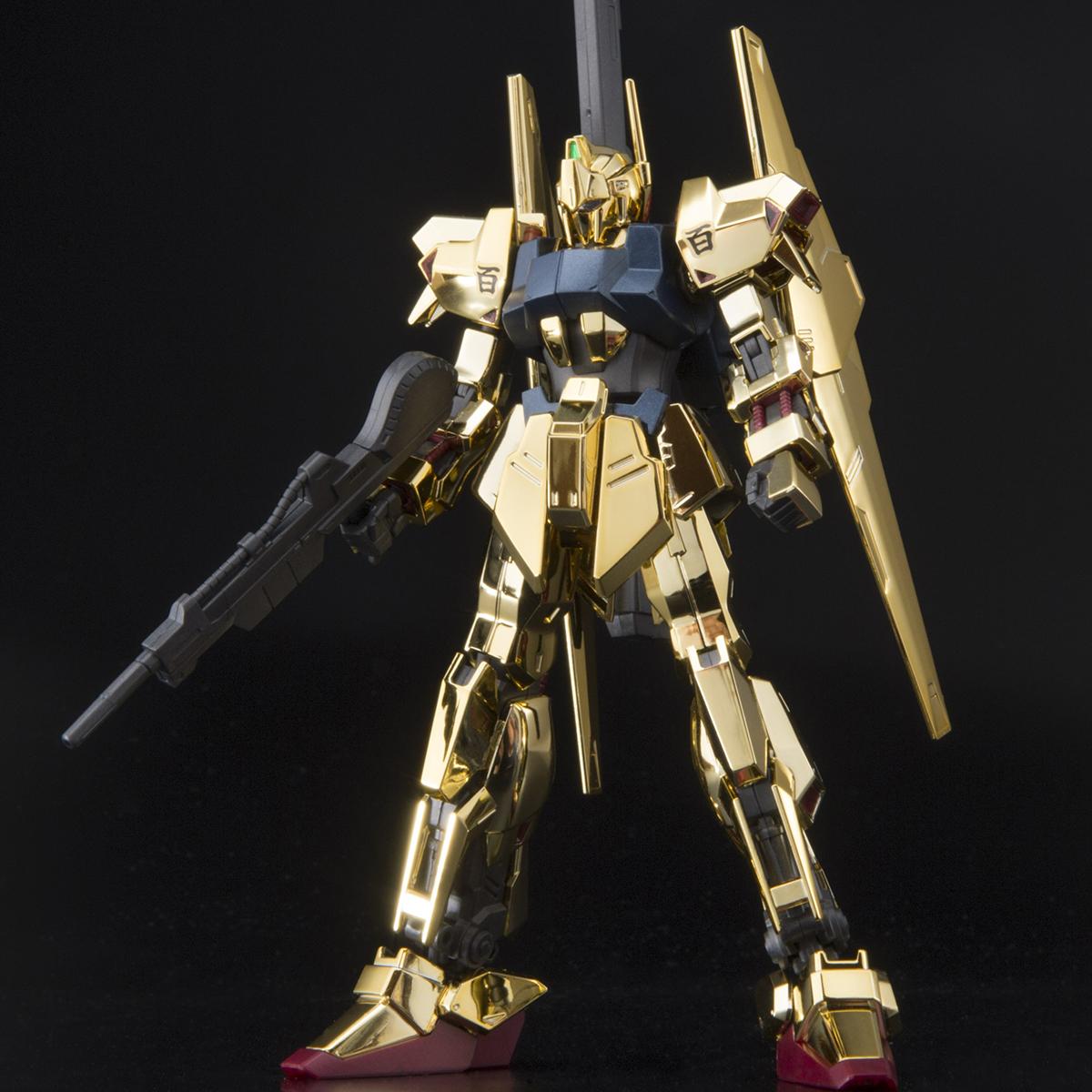 HG 1/144 THE GUNDAM BASE LIMITED HYAKU-SHIKI [GOLD COATING][Sep 2020 Delivery]