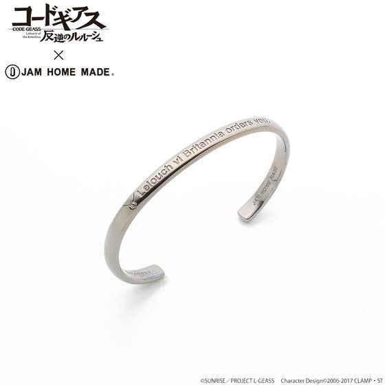 CODE GEASS Lelouch of the Rebellion X JAM HOME MADE Bangle Lelouch