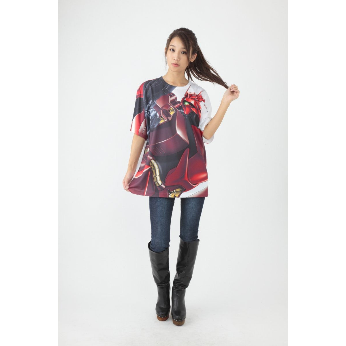 Mobile Suit Gundam: Char's Counterattack All-Over Print T-shirt - MSN-04 ver.