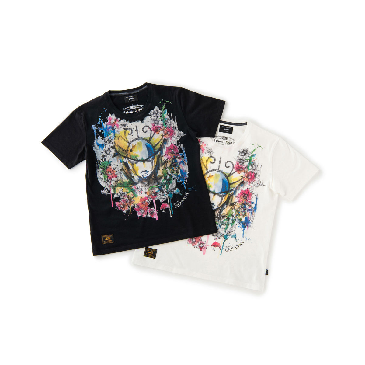 d32ea299c JoJo's Bizarre Adventure: Golden Wind × glamb collaboration T-shirt2