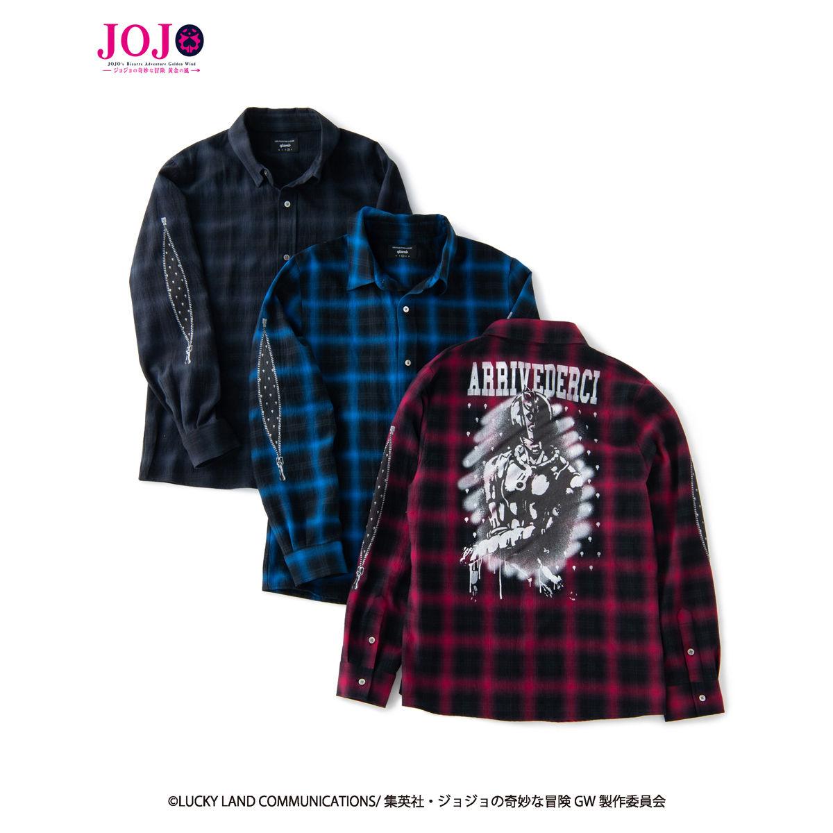 JoJo's Bizarre Adventure: Golden Wind  × glamb  collaboration Shirt