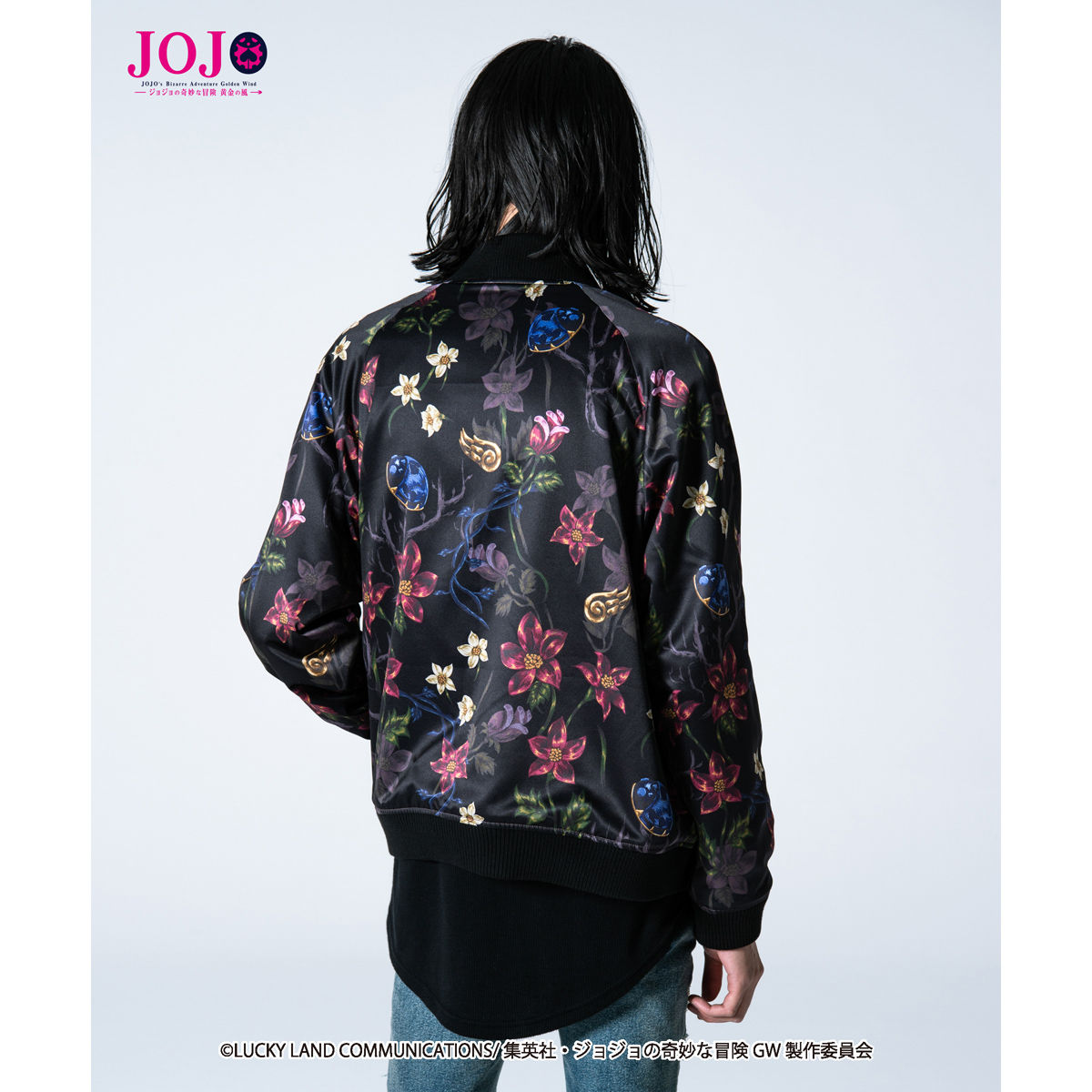 JoJo's Bizarre Adventure: Golden Wind  × glamb  collaboration Souvenir jacket