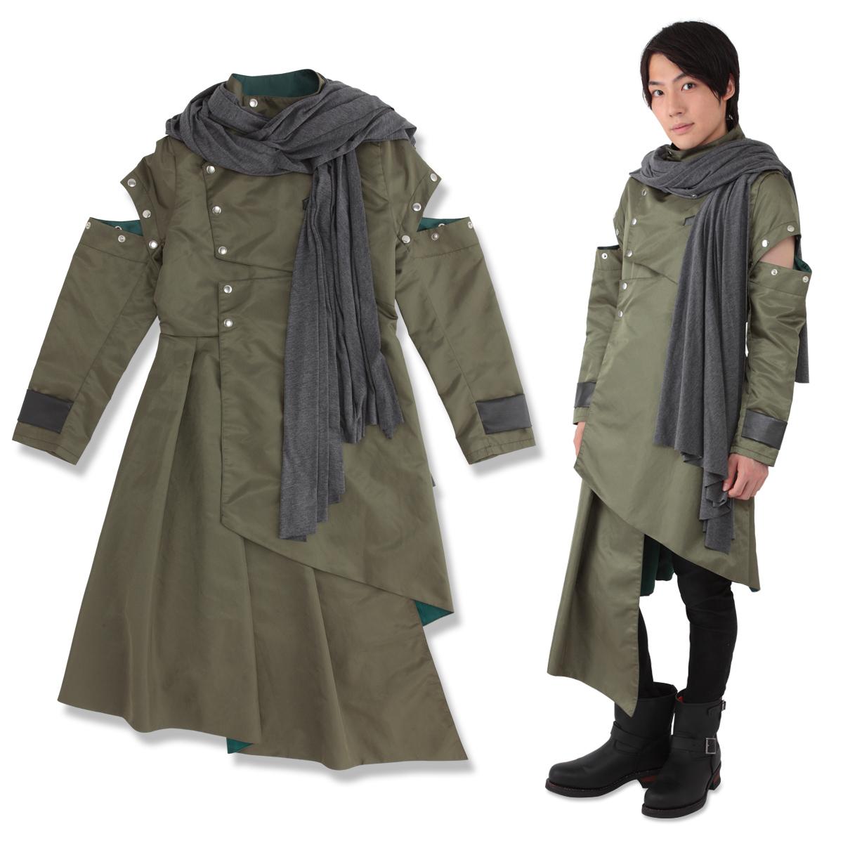 KAMEN RIDER ZI-O Cosplay Jacket&Hooded stole (Woz)