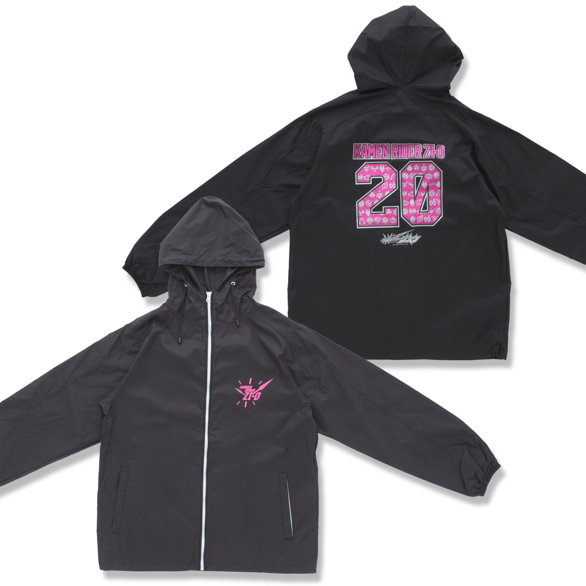 KAMEN RIDER ZI-O & HEISEI RIDER Hooded jacket | PREMIUM