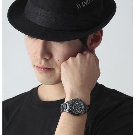 KAMEN RIDER W WIND SCALE Chronograph watch