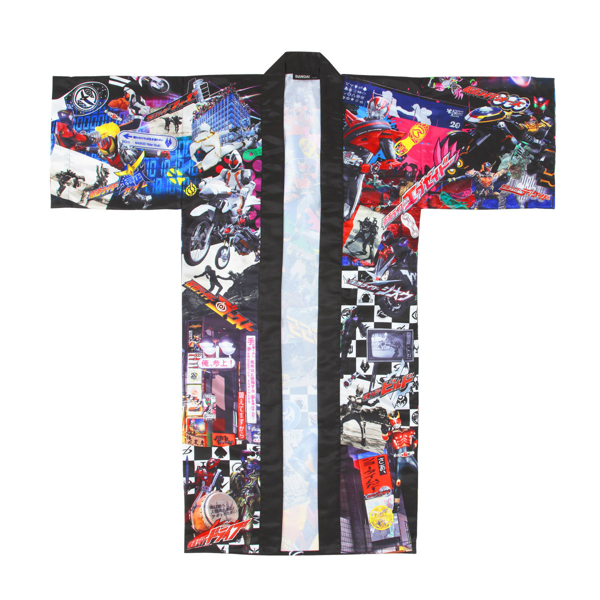 Heisei Kamen Rider 20th Anniversary Traditional Japanese Straight-Sleeved Coat.