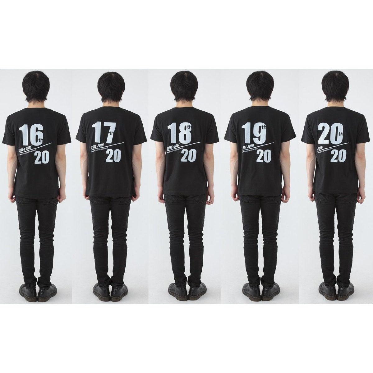 HEISEI RIDER 20th anniversary MOVIE T-shirts