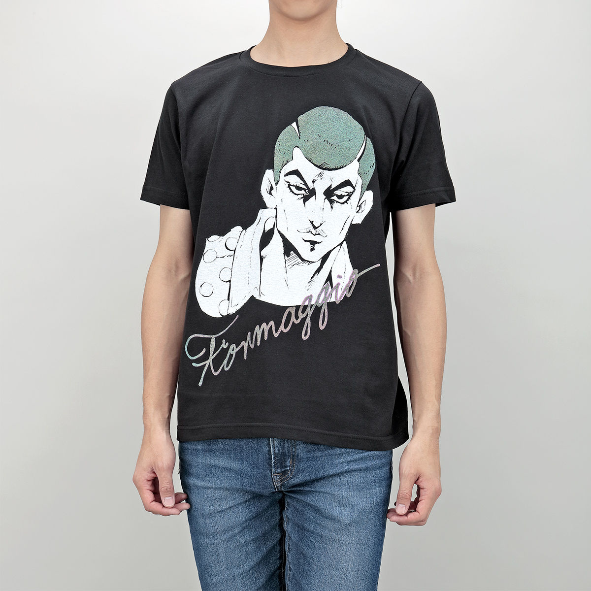 JoJo's Bizarre Adventure: Golden Wind T-shirt Collection (Hitman Team)
