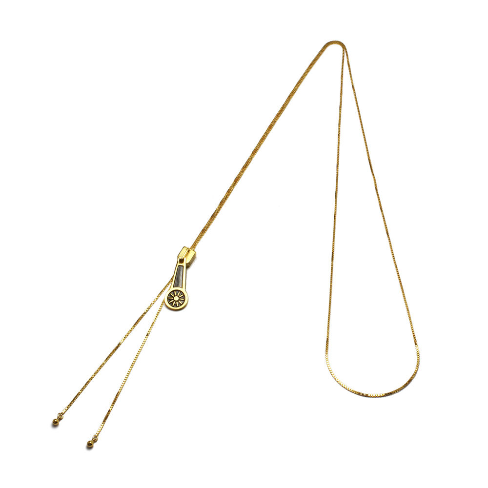 Zipper-shaped Necklace—JoJo's Bizarre Adventure: Golden Wind/JAM HOME MADE Collaboration