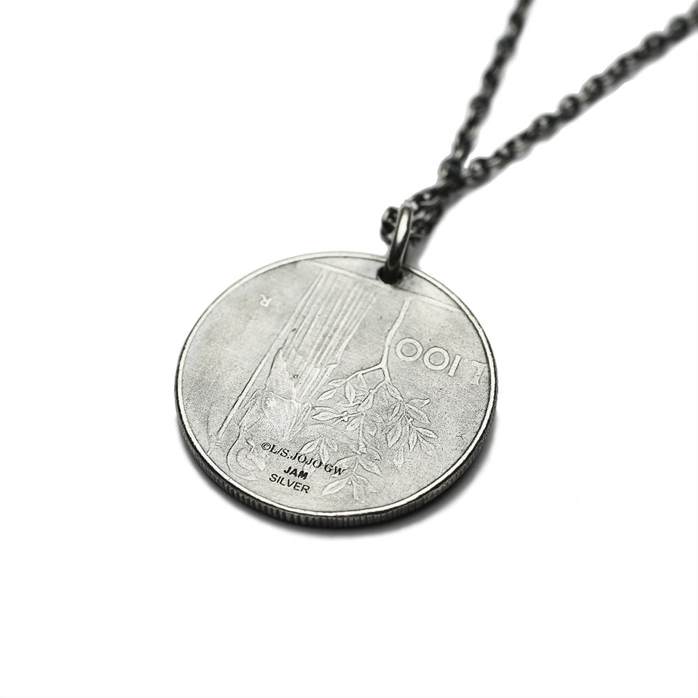 Coin Pendant Necklace—JoJo's Bizarre Adventure: Golden Wind/JAM HOME MADE Collaboration