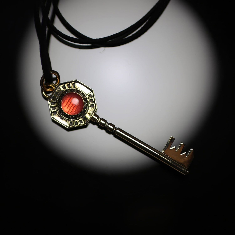 Key-shaped Necklace—JoJo's Bizarre Adventure: Golden Wind/JAM HOME MADE Collaboration