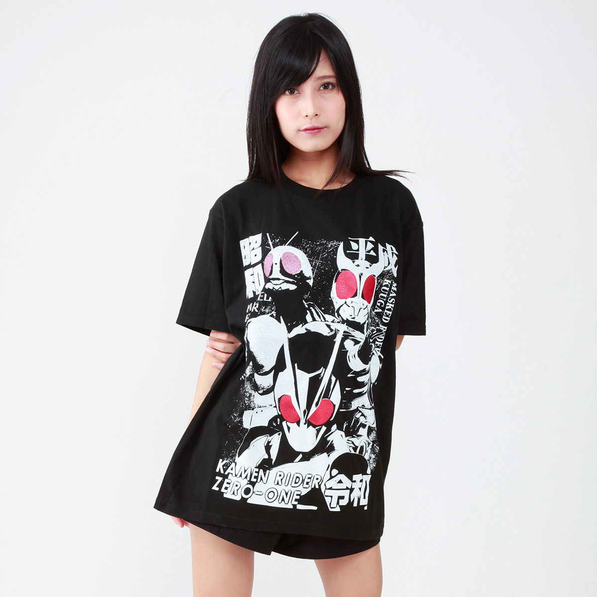 Kamen Rider the Beginning of Three Japanese Era T-shirt
