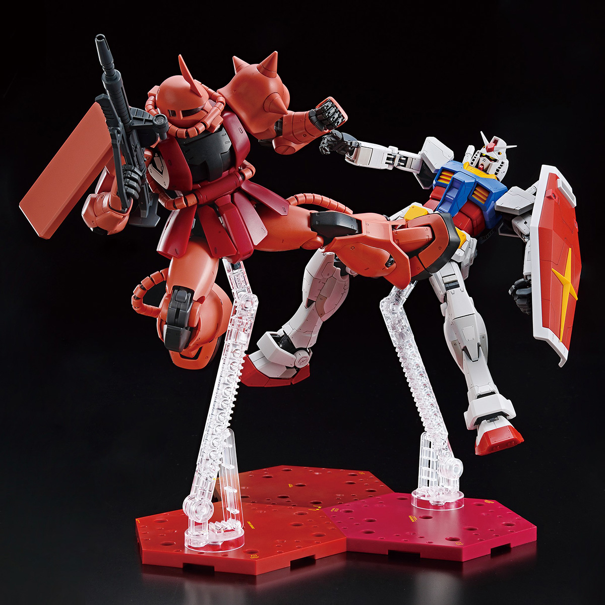 THE GUNDAM BASE LIMITED ACTION BASE4[CHAR COLOR][Sep 2020 Delivery]