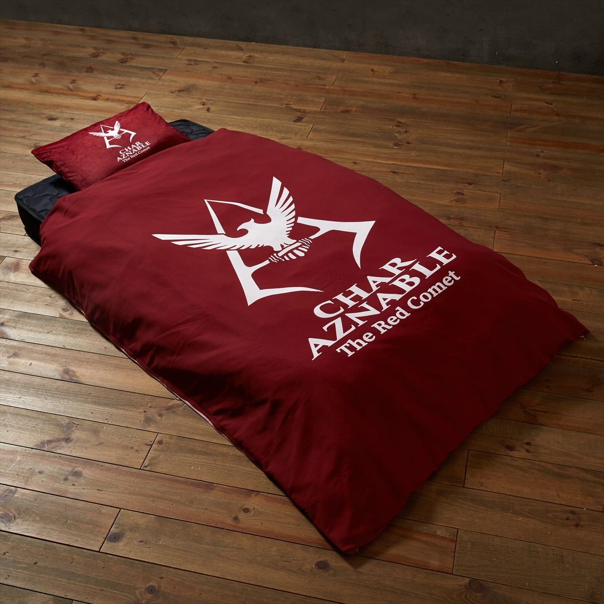 Mobile Suit Gundam Char Aznable Logo Duvet Cover Set