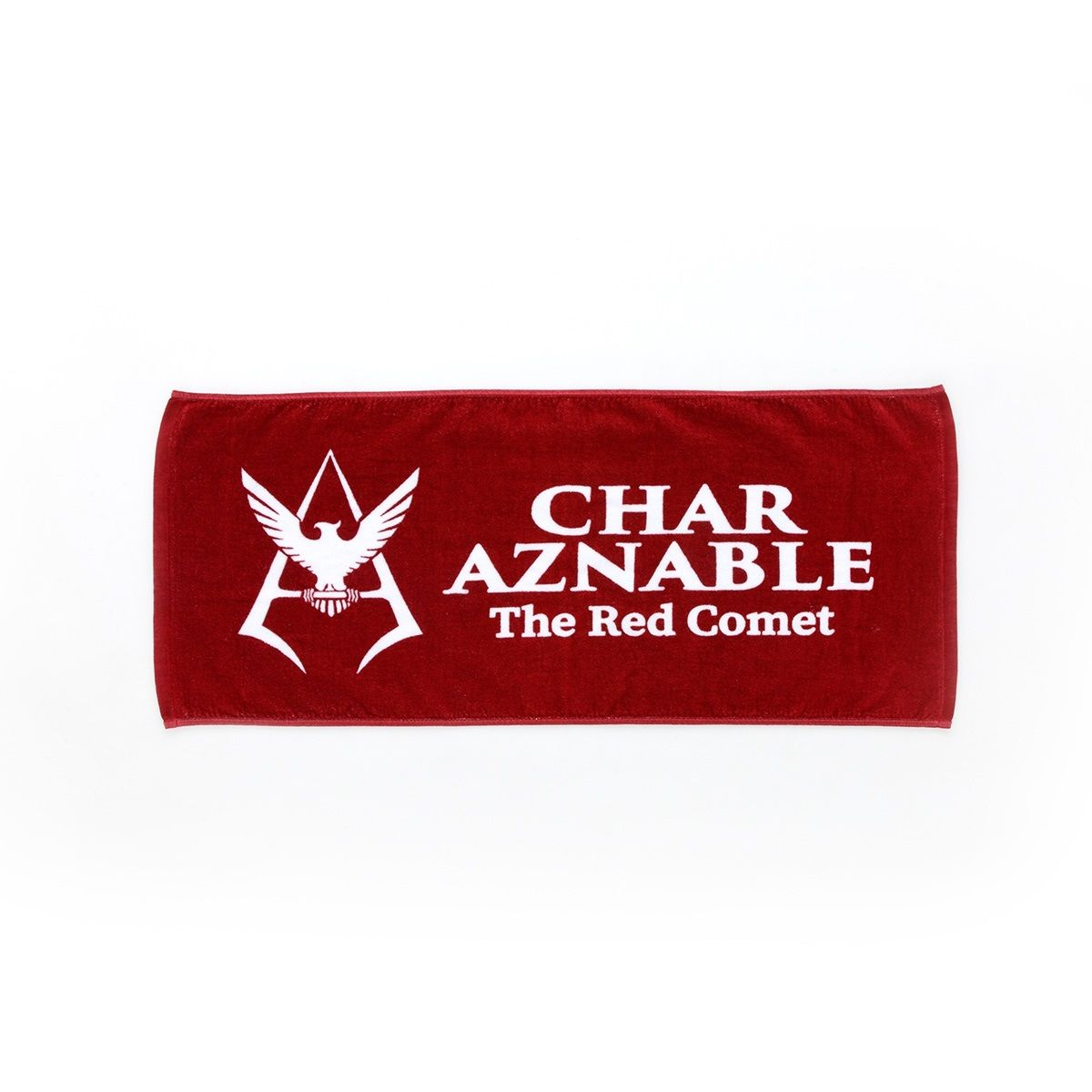 Mobile Suit Gundam Char Aznable Logo Face Towel