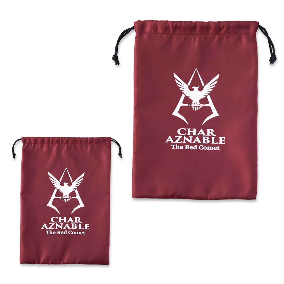 Mobile Suit Gundam Drawstring Bag Set
