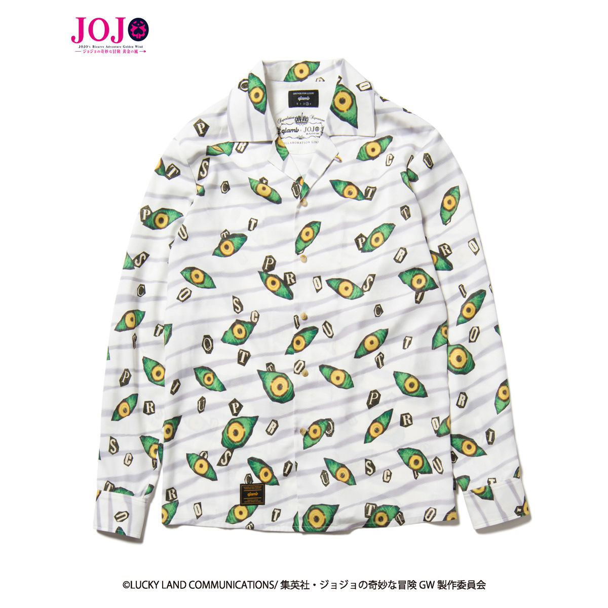 Thankful Dead Dress Shirt—JoJo's Bizarre Adventure: Golden Wind/glamb Collaboration