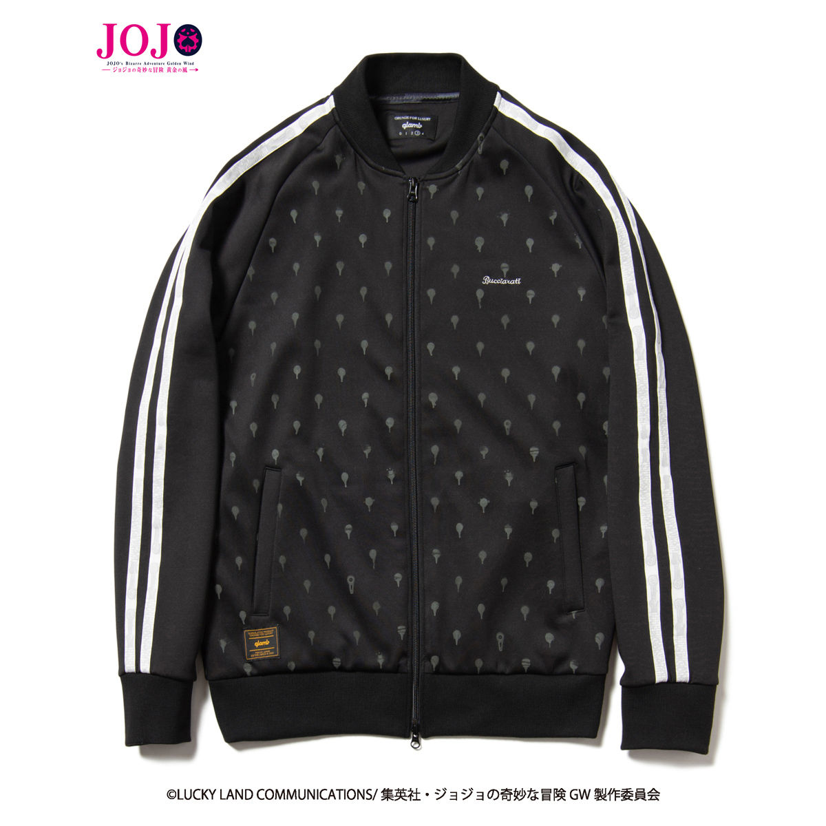 Bucciarati Track Jacket—JoJo's Bizarre Adventure: Golden Wind/glamb Collaboration
