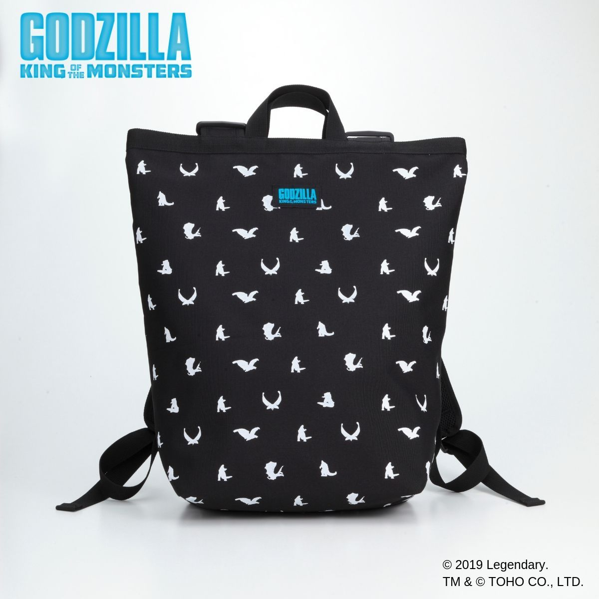 Godzilla King of the Monsters Backpack - Silhouette Art ver.