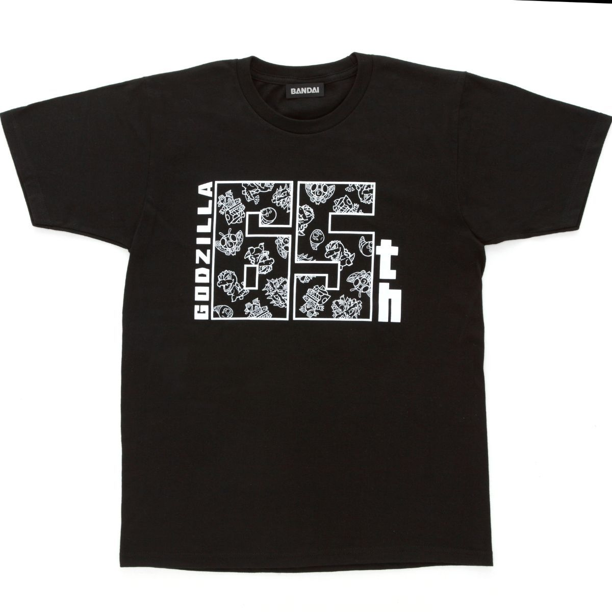 Super-Deformed Godzilla Monsters T-shirt - 65th Anniversary ver.