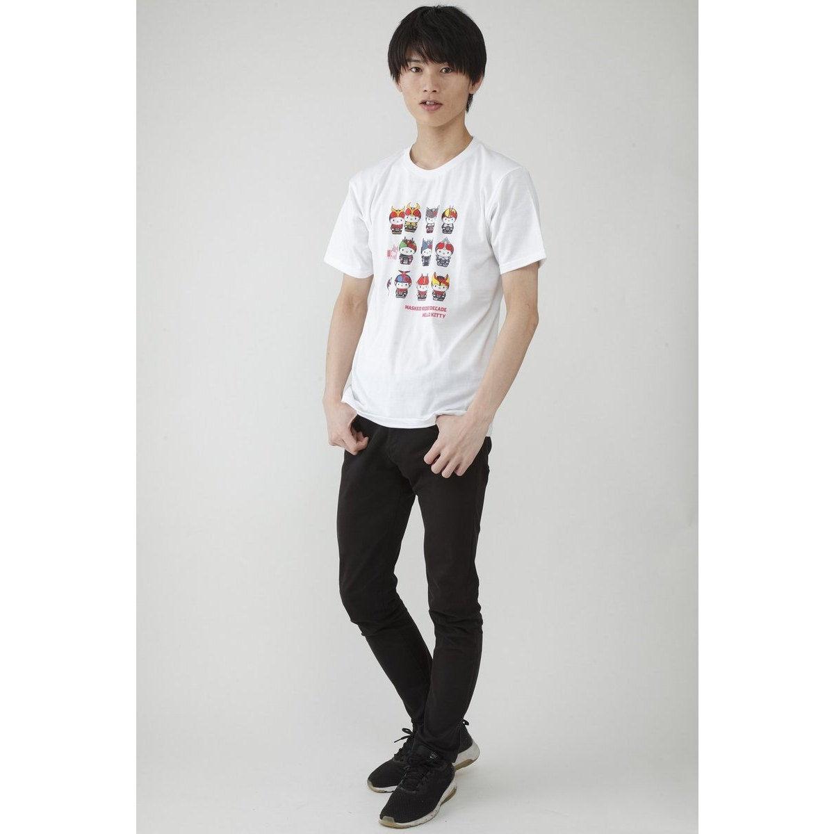 Full-color Printed T-shirt—Kamen Rider Decade/Hello Kitty Collaboration