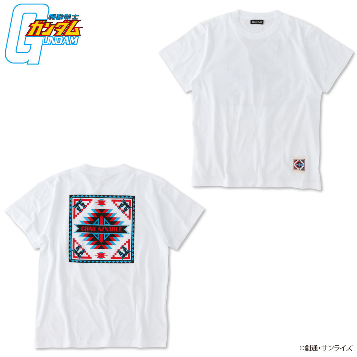South-Western Style T-shirt—Mobile Suit Gundam