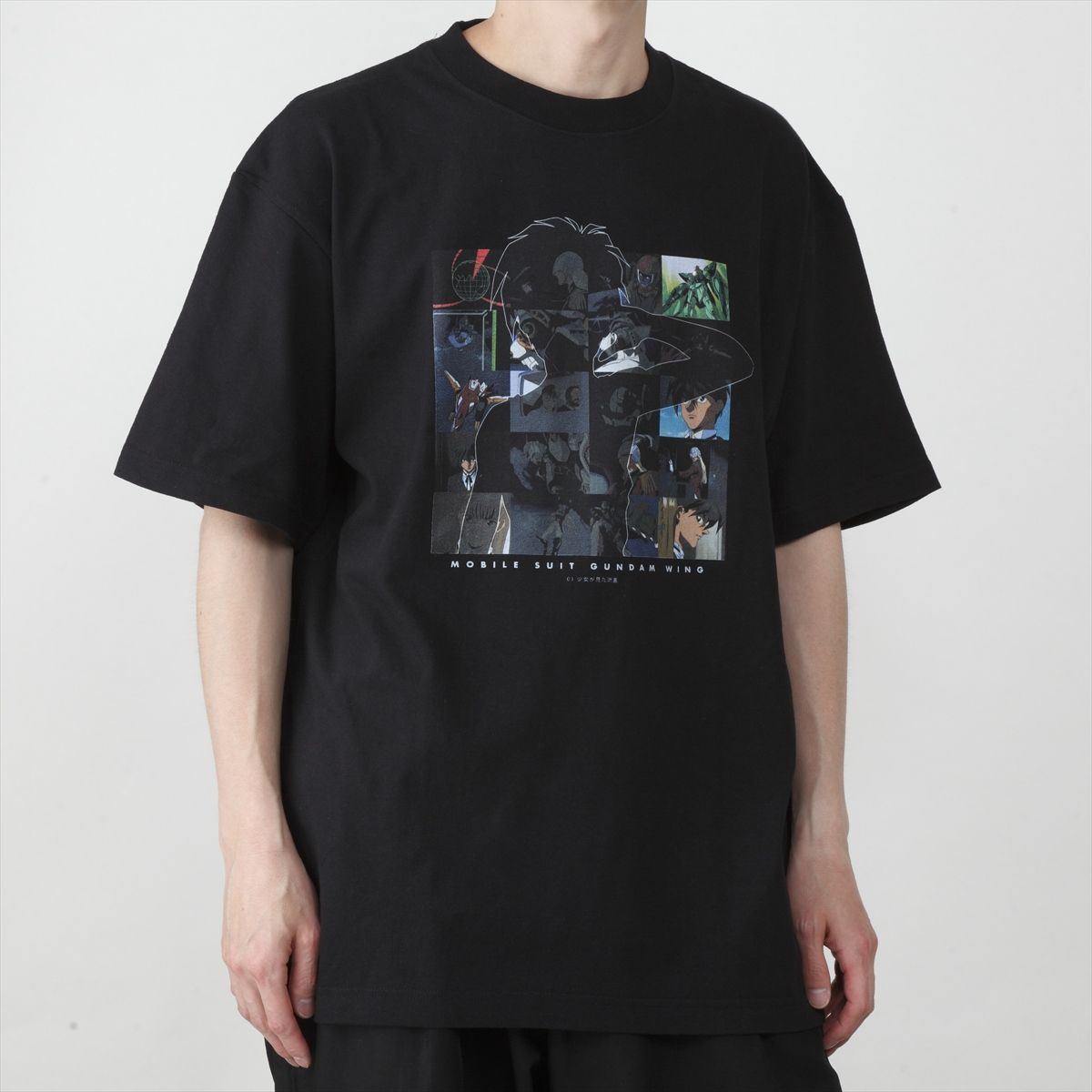The Shooting Star She Saw T-shirt—Mobile Suit Gundam Wing