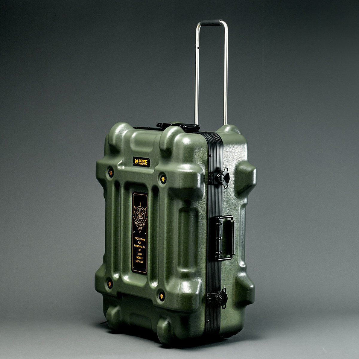 STRICT-G×PROTEX CR-4000 Luggage - Mobile Suit Gundam Principality of Zeon Version [Oct 2021 Delivery]