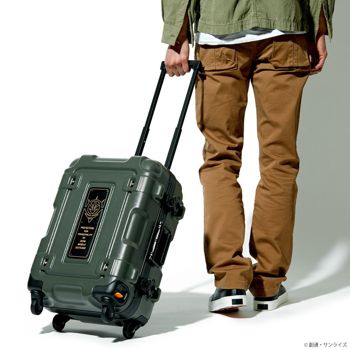 STRICT-G×PROTEX CR-3300 Luggage - Mobile Suit Gundam Principality of Zeon Version [Oct 2021 Delivery]
