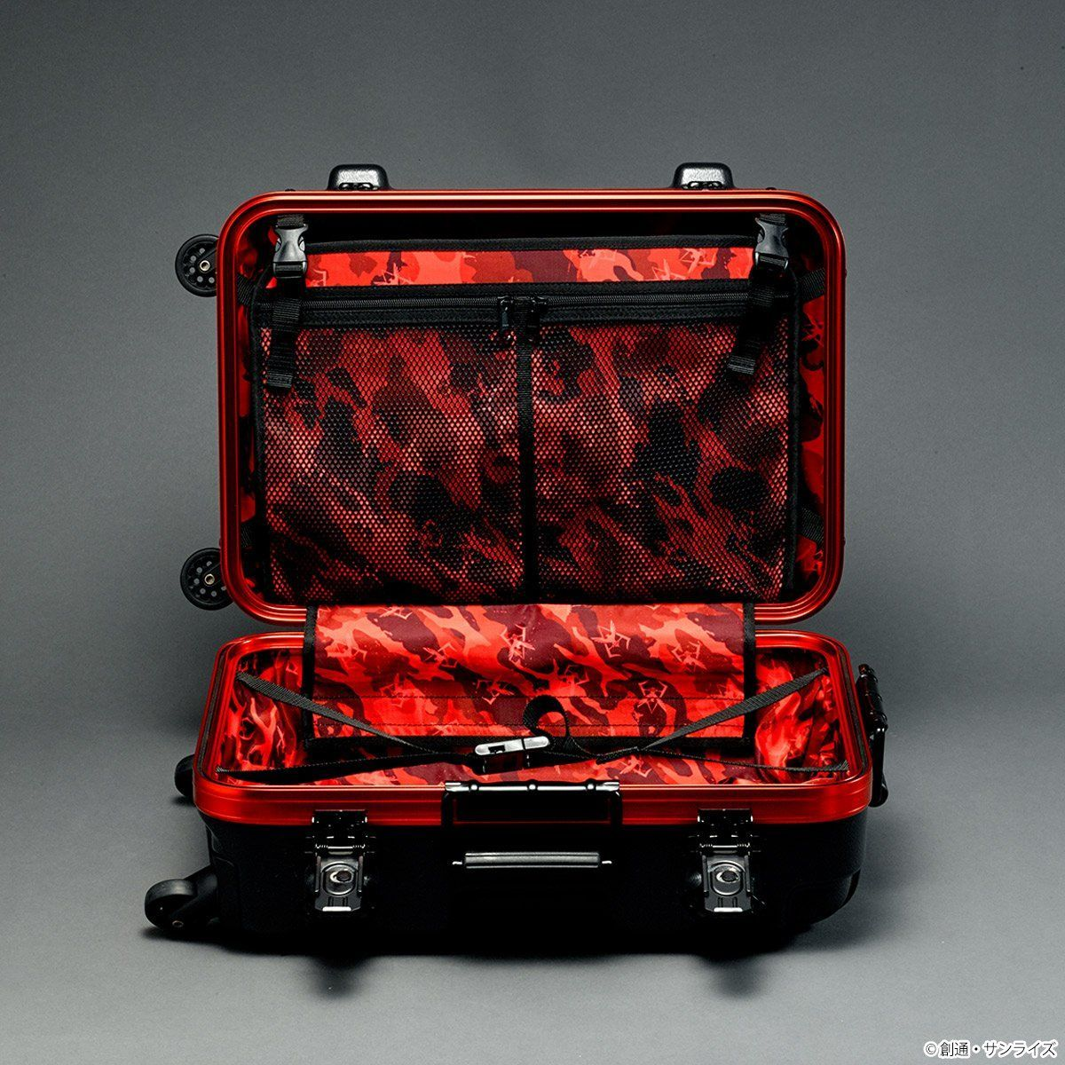 STRICT-G×PROTEX CR-3300 Luggage - Mobile Suit Gundam Char Aznable Version [Oct 2021 Delivery]