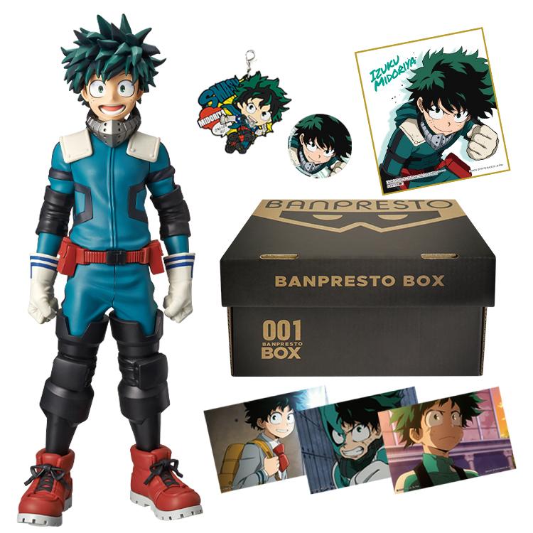 BANPRESTO BOX MY HERO ACADEMIA