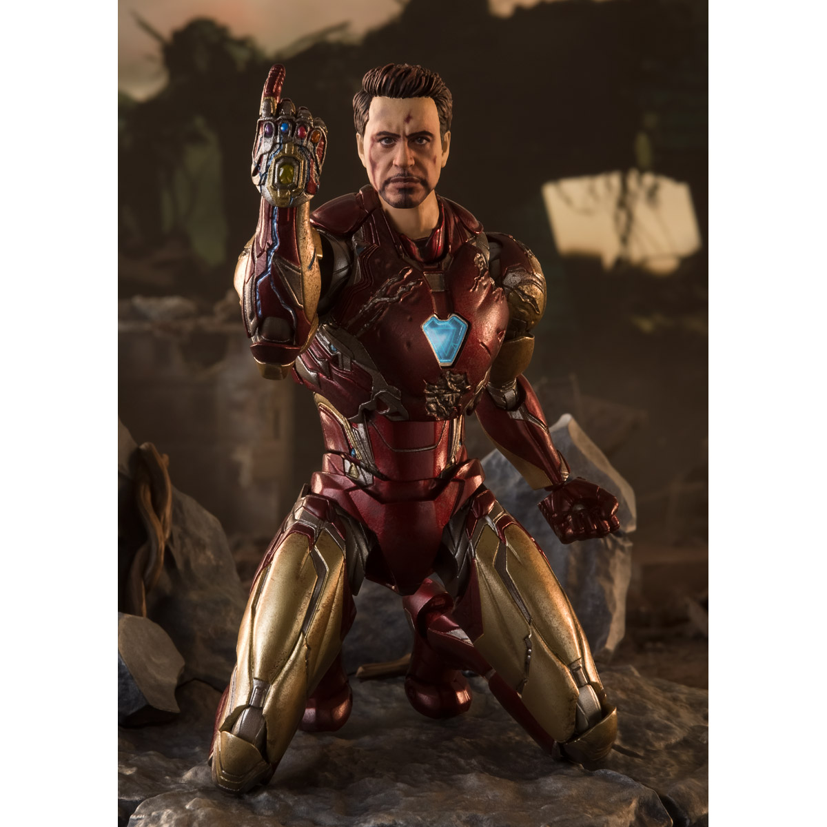 S.H.Figuarts Iron Man Mk-85 -《I AM IRON MAN》 EDITION (Avengers: Endgame)