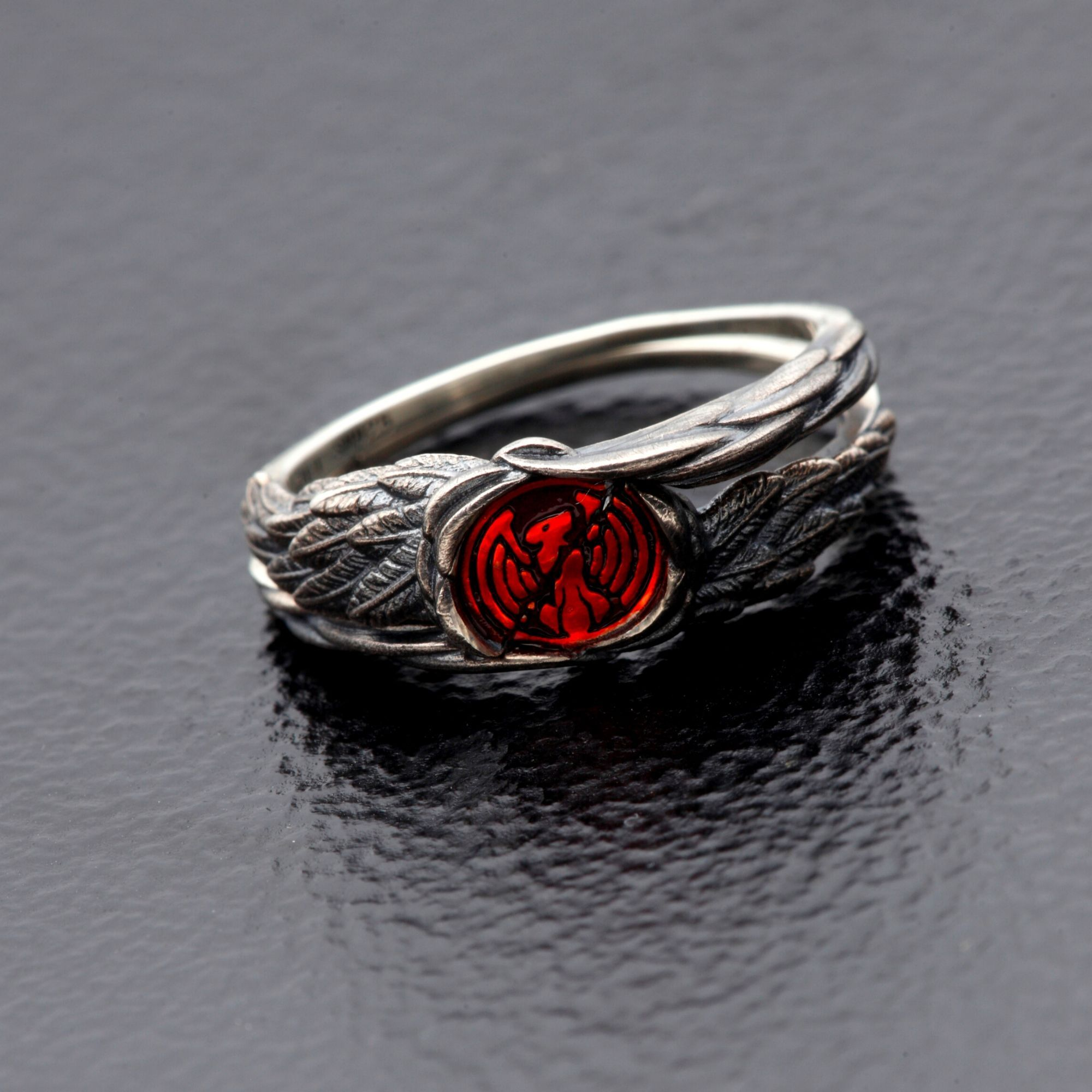 Kamen Rider OOO Shattered Taka Medal Combined Ring
