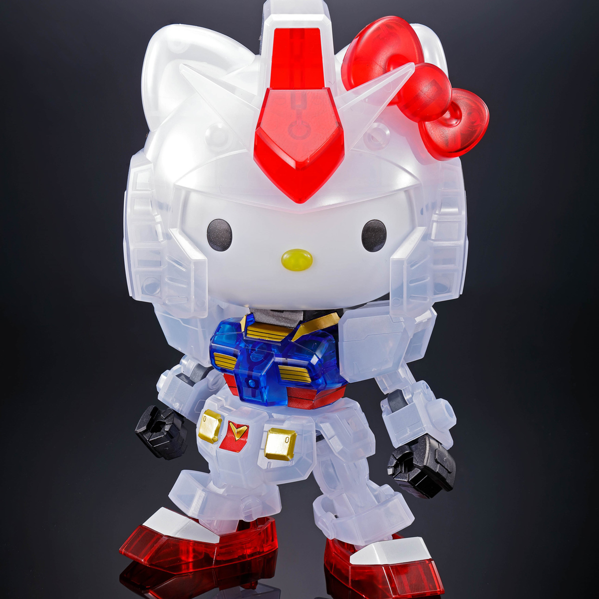 HELLO KITTY/RX-78-2 GUNDAM[SD EX-STANDARD] [CLEAR COLOR][Sep 2020 Delivery]