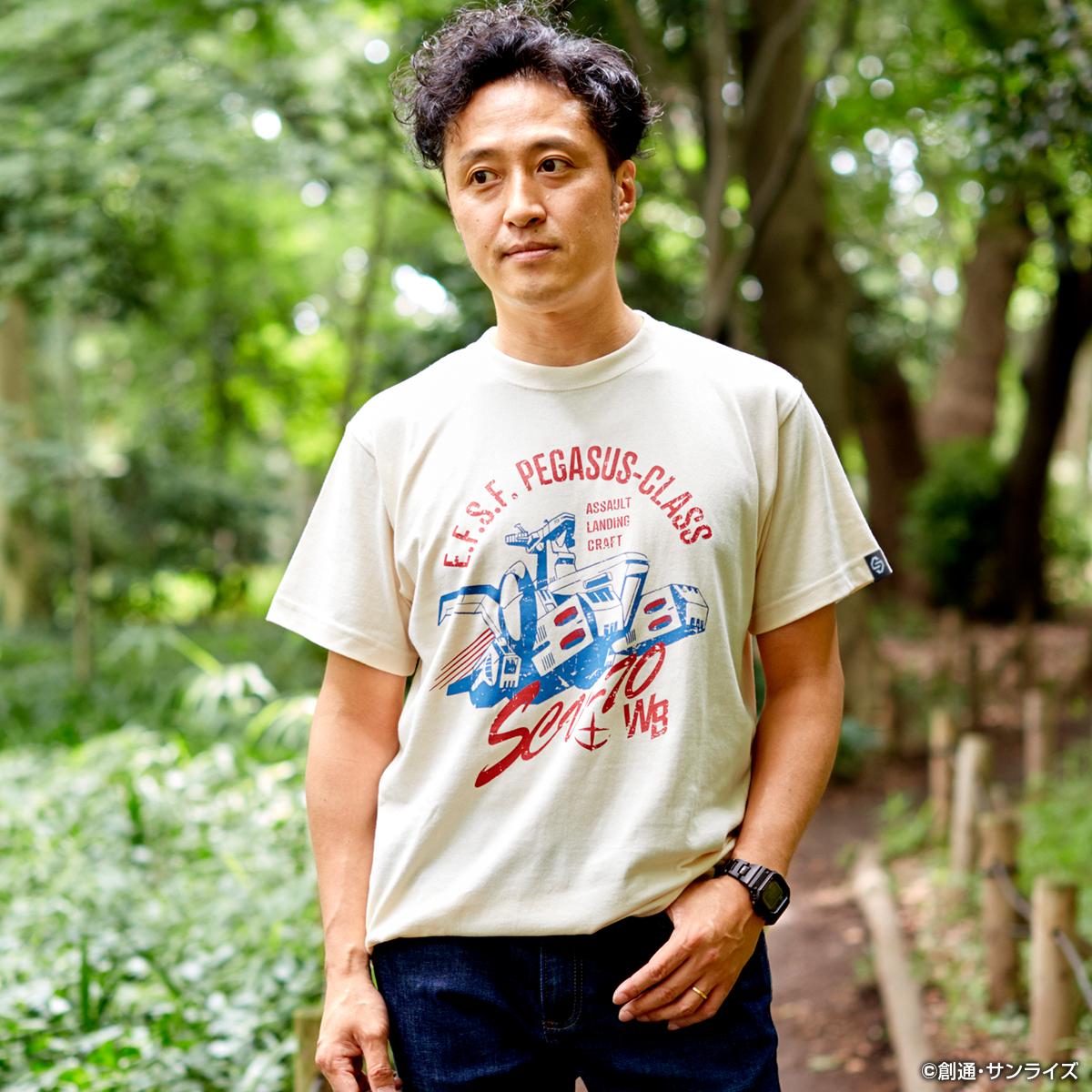 White Base T-shirt—Mobile Suit Gundam/STRICT-G Collaboration