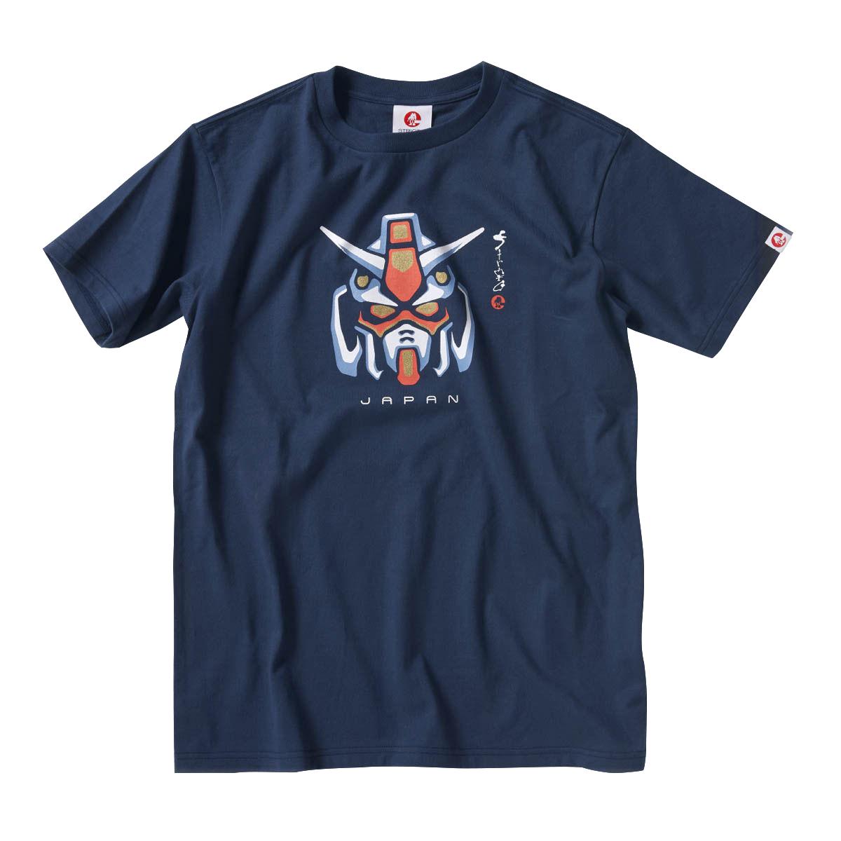 Gundam Motif T-shirt—Mobile Suit Gundam/STRICT-G JAPAN Collaboration