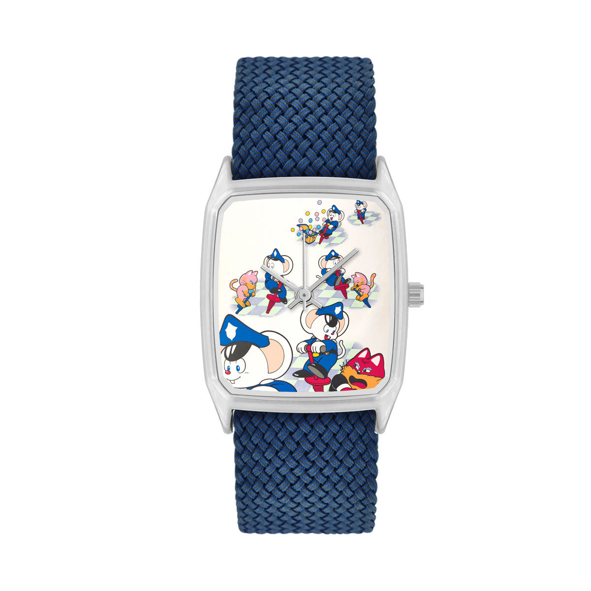 Hopping Mappy Wristwatch—Namco Museum/LAPS Collaboration