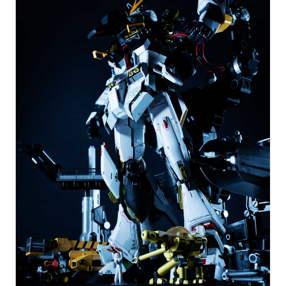 METAL STRUCTURE 解体匠機 RX-93 νGUNDAM OPTION PARTS LONDO BELL ENGINEERS