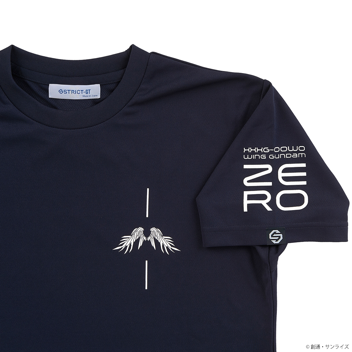 Wing Gundam Zero Quick-Drying T-shirt—Mobile Suit Gundam Wing/STRICT-G Collaboration