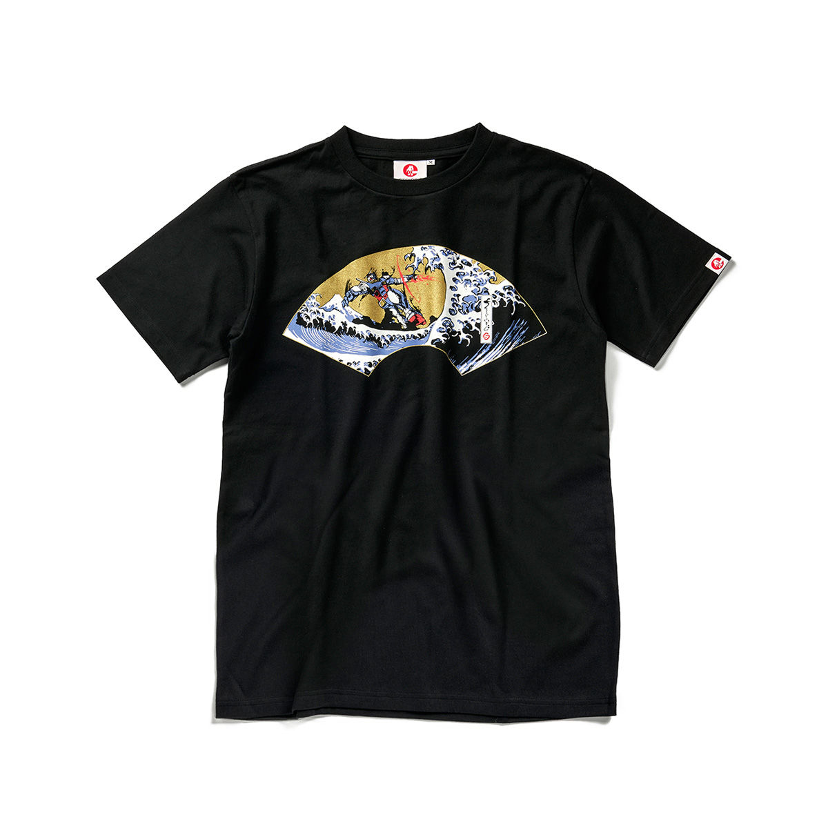 Gundam and the Big Wave T-shirt—Mobile Suit Gundam/STRICT-G JAPAN Collaboration