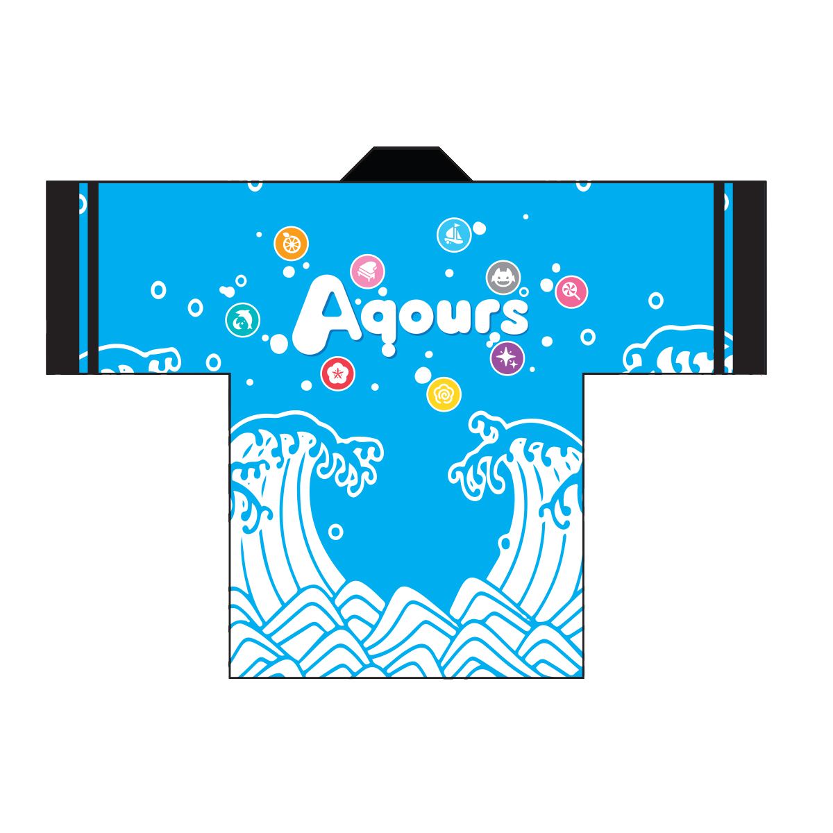 Love Live! Sunshine!! Aqours 5th Anniversary Happi  [September 2021 Delivery]