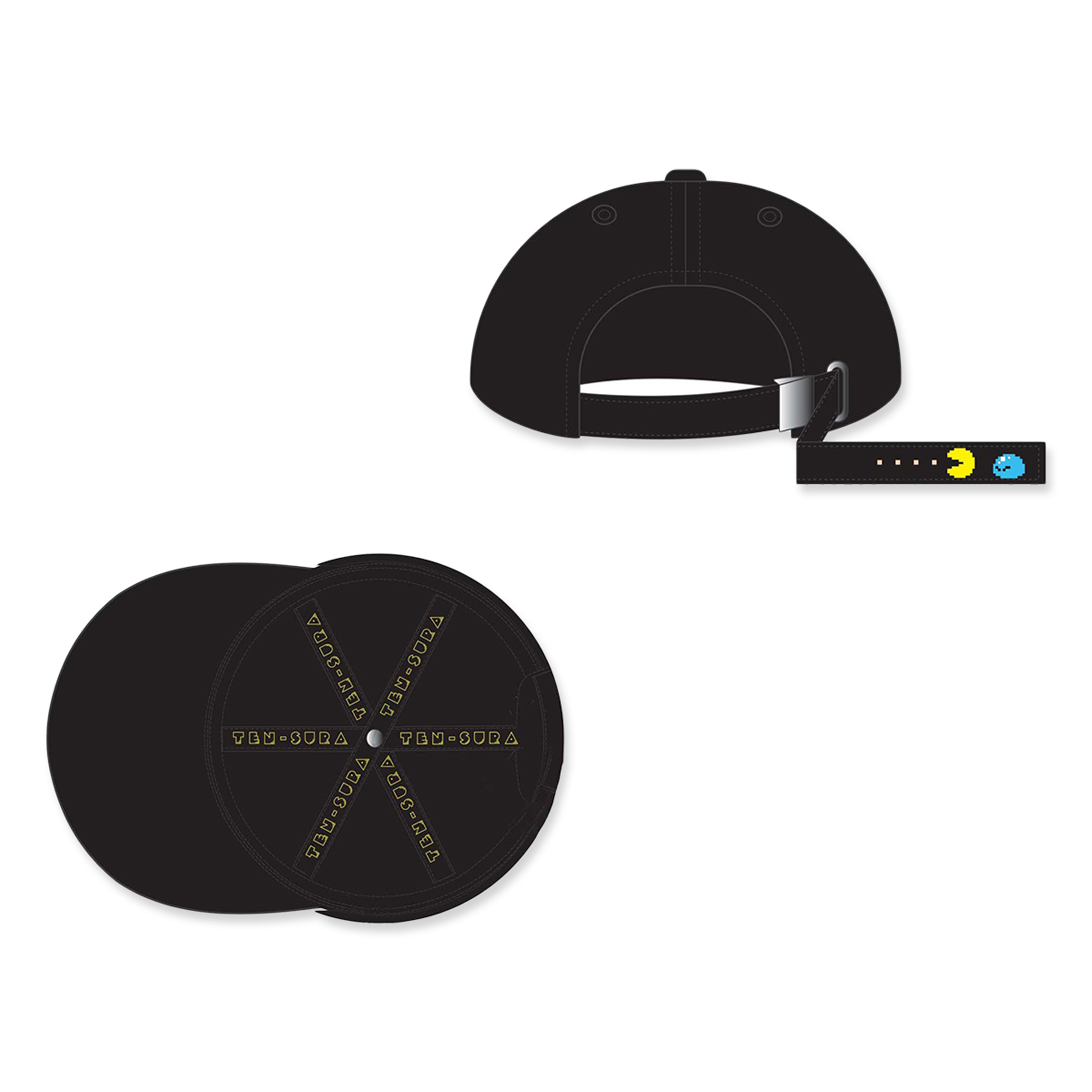 TEN-SURA x PAC-MAN™ Collaboration Cap
