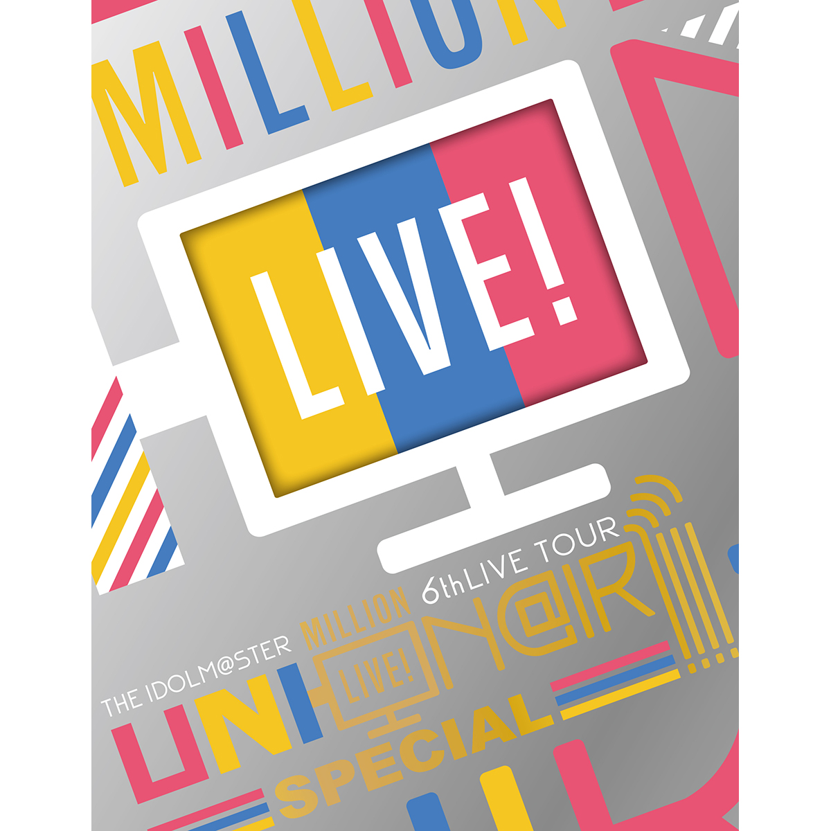 THE IDOLM@STER MILLION LIVE! 6thLIVE TOUR UNI-ON@IR!!!! LIVE Blu-ray SPECIAL COMPLETE THE@TER [Limited Edition]