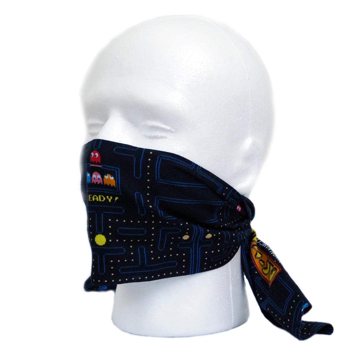PAC-MAN Tenugui Face Covering[Dec 2020 Delivery]