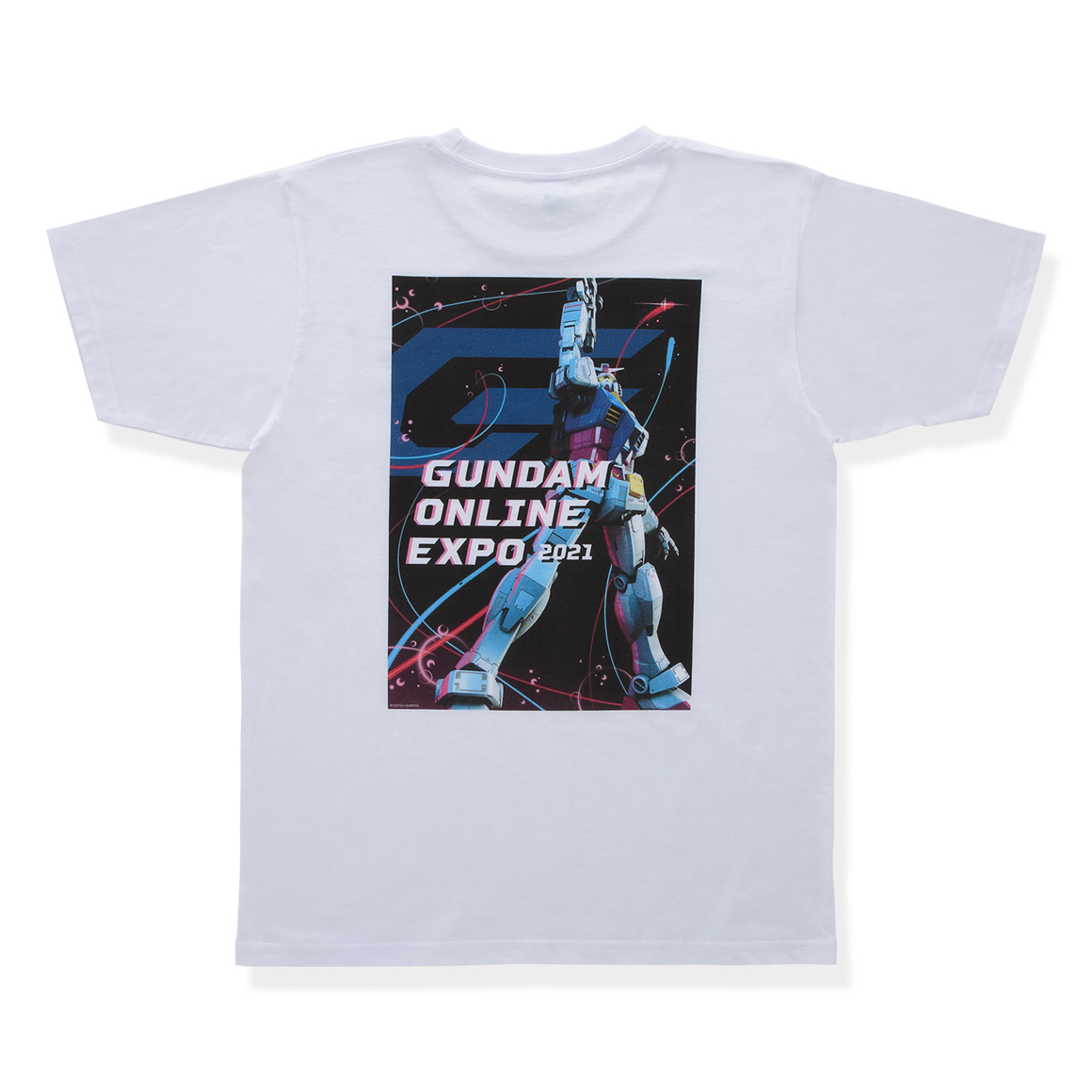 Gundam Online Expo Key Visual T-Shirt 2021 (White)