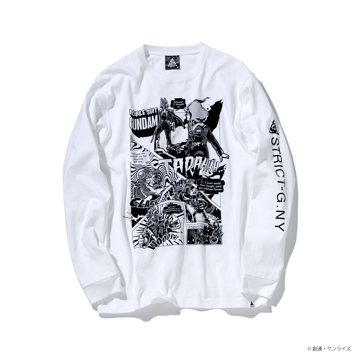STRICT-G NEW YARK American Comic Design Long-Sleeve T-shirt