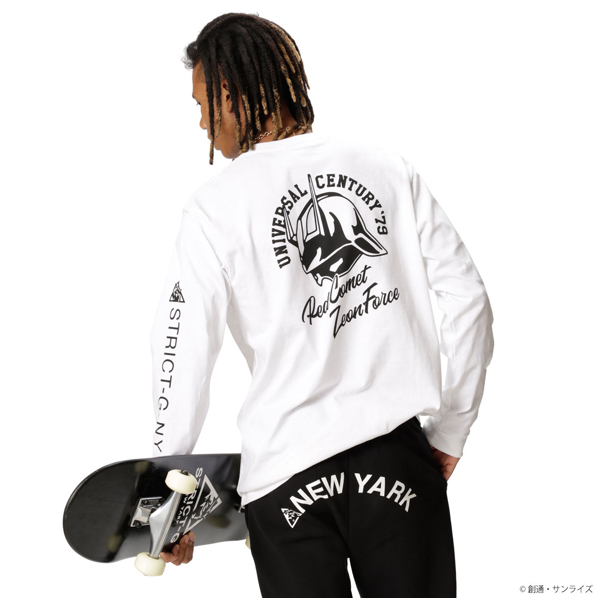 STRICT-G NEW YARK Red Comet Long-Sleeve T-shirt