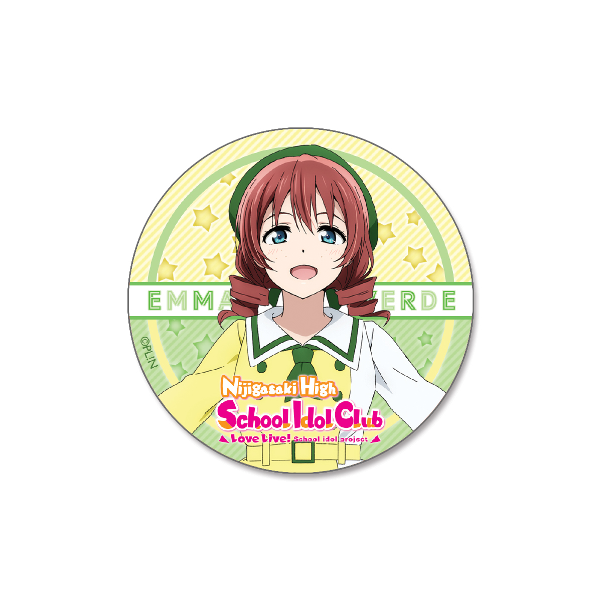 Love Live! Nijigasaki High School Idol Club Tin Button Vol. 2 (Set)[Jan 2021 Delivery]